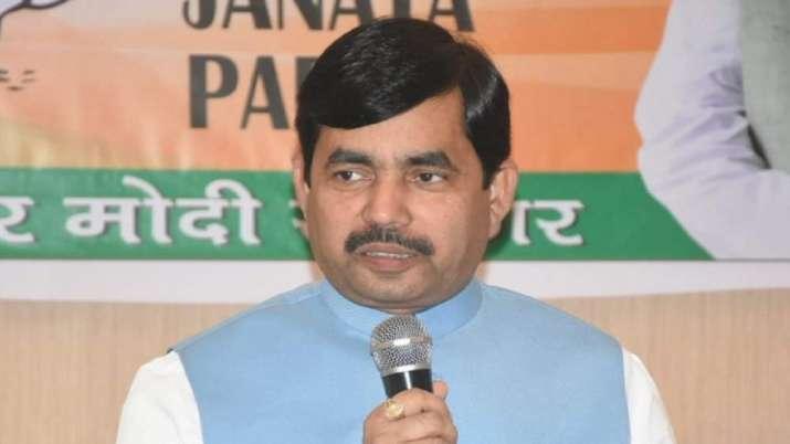 BJP leader Syed Shahnawaz Hussain