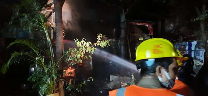 Mumbai: 7 injured in explosion after fire at shop in Thane's Wagle Estate area