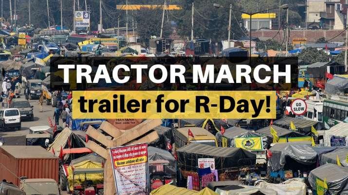Tractor march, Republic Day parade, R Day parade, Delhi Chalo, Farm laws protests