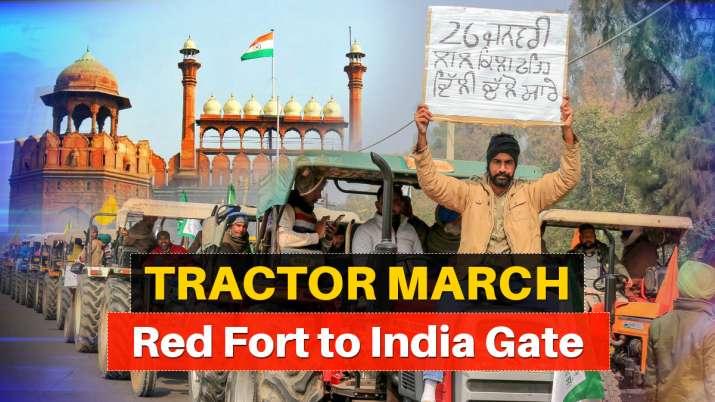 farmers march
