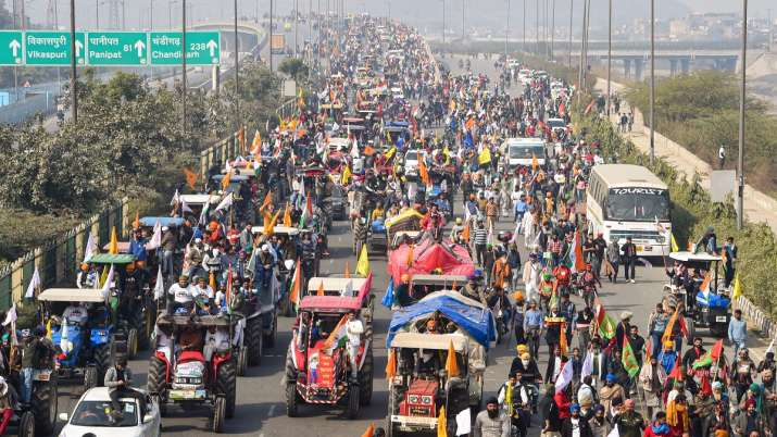 Tractor Rally, Tractor Rally violence, Republic Day 2021