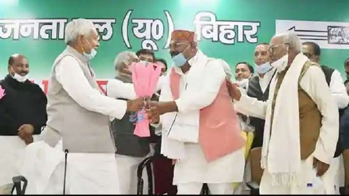 Bihar Chief Minister Nitish Kumar and JD(U) National