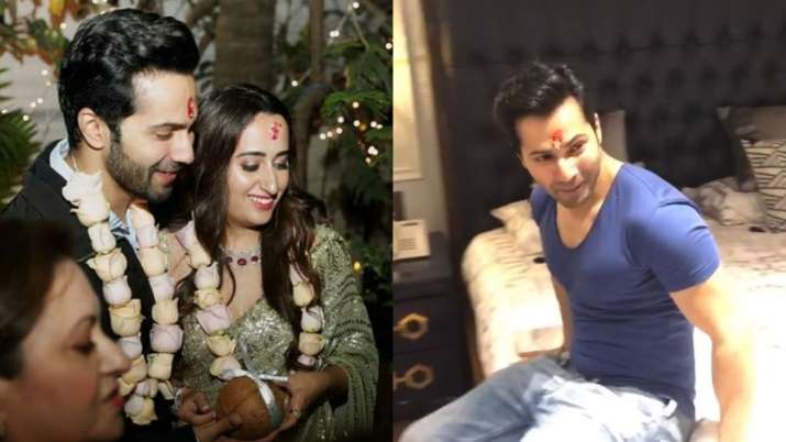 Sneak-peek into Varun Dhawan-Natasha Dalal's new home; watch video