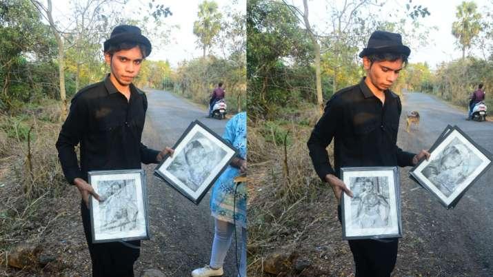 Varun Dhawan's fan waits outside wedding venue to shower him with handmade gifts