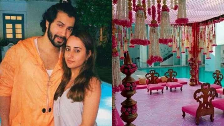 Pictures of Varun Dhawan & Natasha Dalal wedding 'mandap' go viral on Internet. Seen yet?