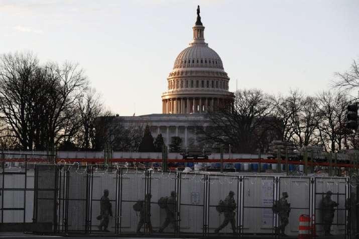 Washington on lockdown and on edge before Biden's