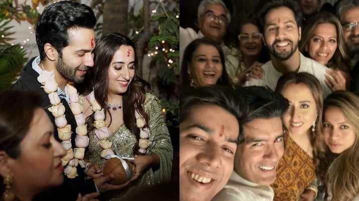 Varun Dhawan-Natasha Dalal's fun filled wedding festivities; Manish Malhotra shares unseen pics