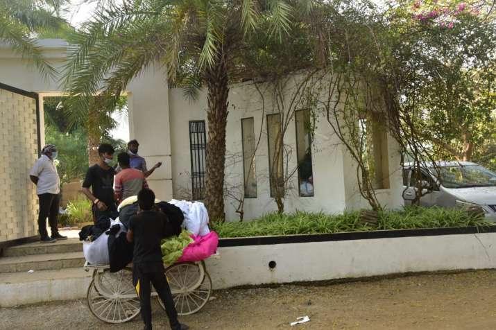 טלוויזיה בהודו - מקום החתונה של ורון דהואן ונטשה דלאל