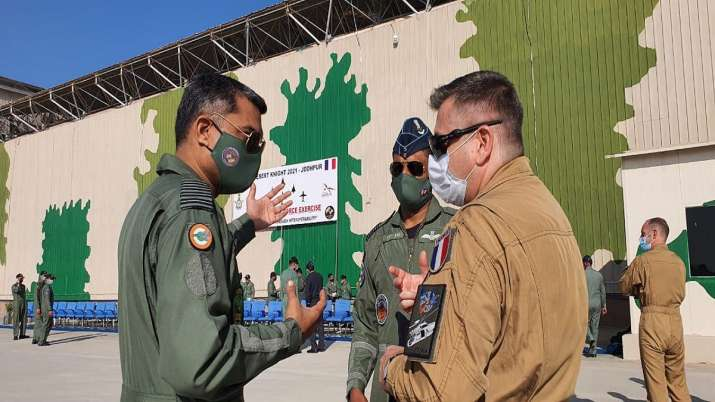 India Tv - IAF, FASF conclude Desert Knight 2021 Exercise in Jodhpur