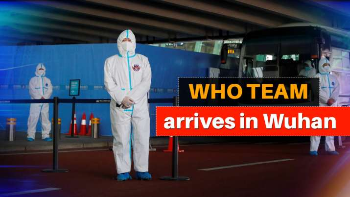 WHO team arrives in Wuhan