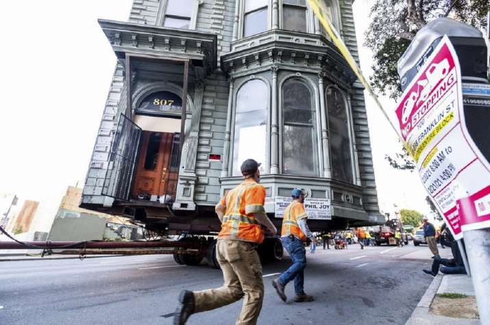 India Tv - san francisco house moved