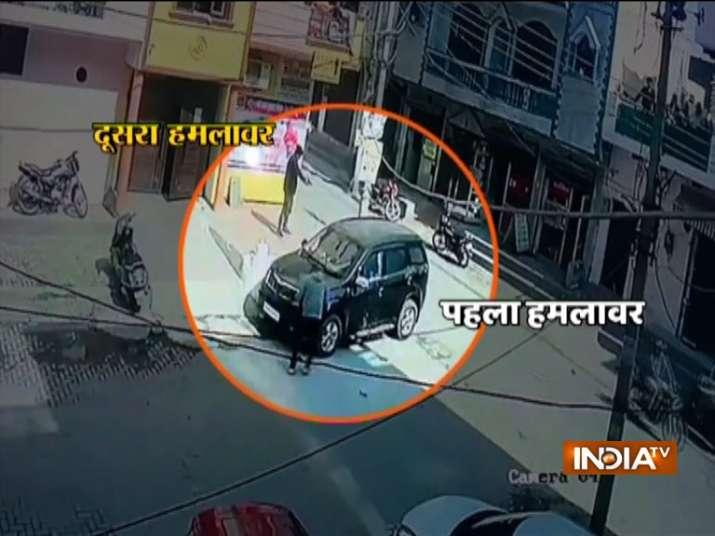 gurugram murder news, gurugram murder viral video, gurugram murder video,gurgaon murder video