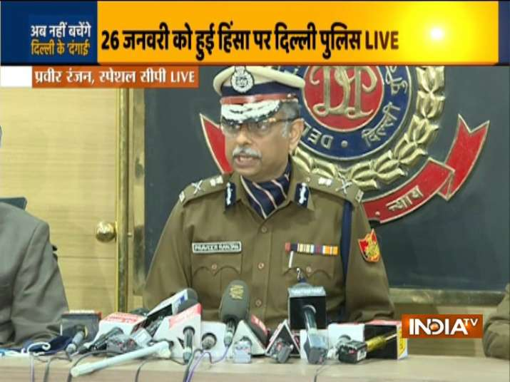 Delhi Republic Day Protest Latest News: Briefing the press, Praveer Ranjan, Special Commissioner of