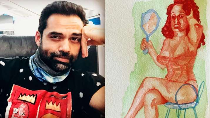 Dive into Abhay Deol's world of art as he shares his paintings