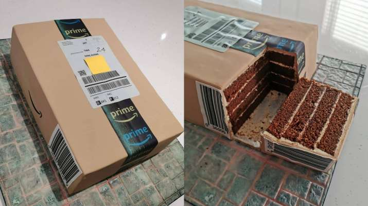 Cake or Amazon package? What are these viral pictures all about?