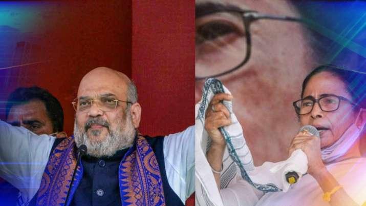bengal polls 2021, bjp parivartan yatra, amit shah rally, mamata banerjee rally