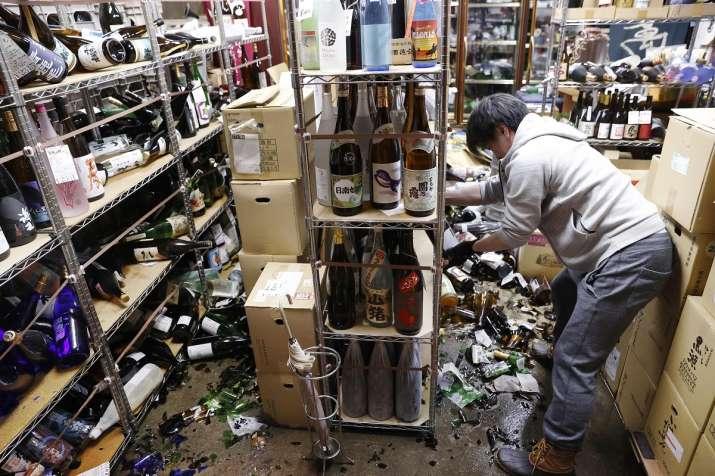 japan earthquake video