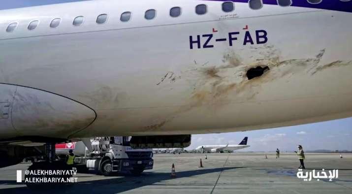 Yemen Houthi rebels target airport, Saudi Arabia airport, plane catches fire