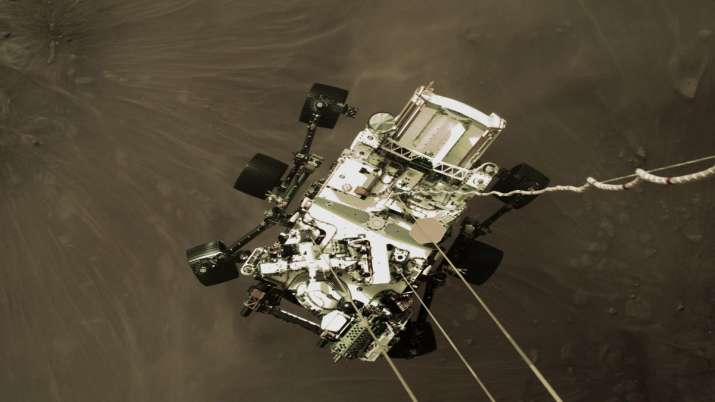 NASA rover sends 1st colour images of Mars, a selfie too