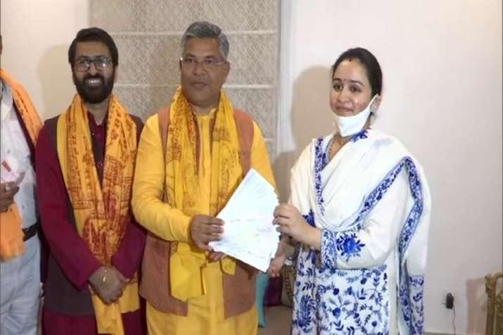 Aparna Yadav donates Rs 11 lakh for Ram temple construction