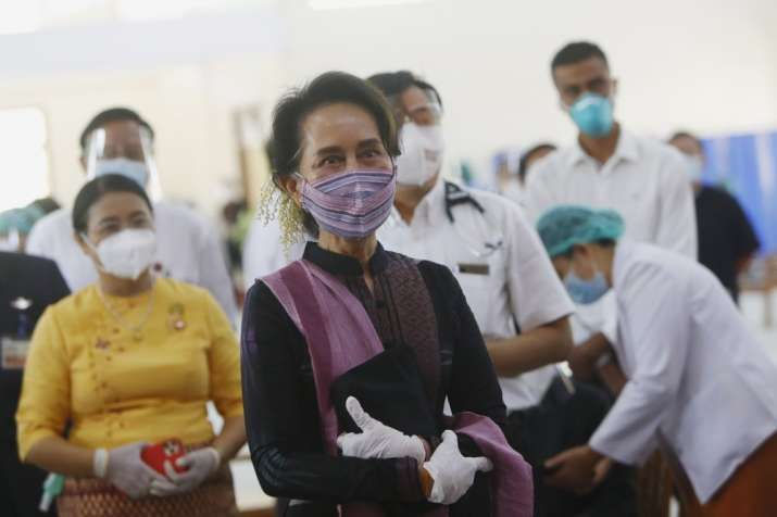 Aung San Suu Kyi detained after military coup in Myanmar