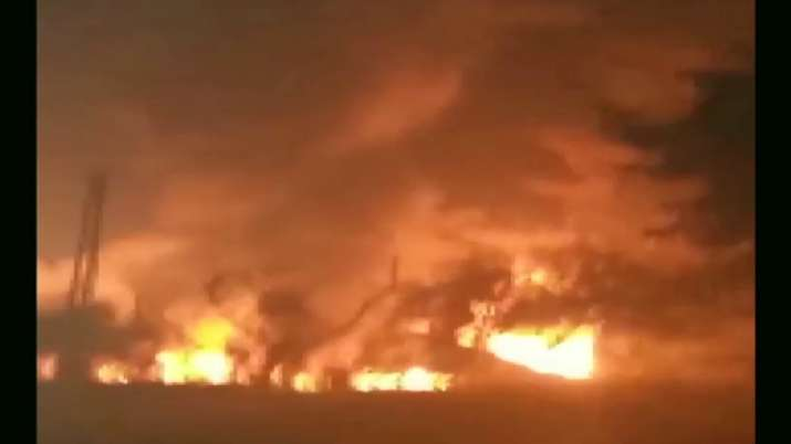 Bulandshahr, fire, chemical factory