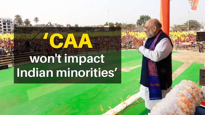 Amit Shah Cooch Behar rally CAA will be implemented after covid vaccination latest news