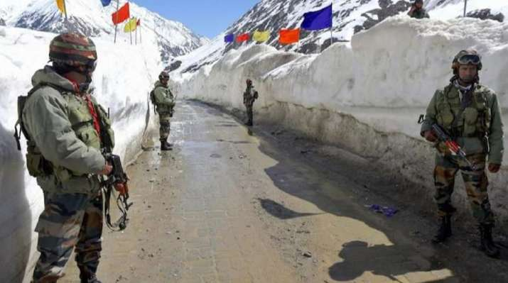 Chinese, Indian border troops start disengagement in