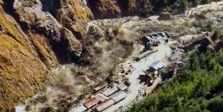 Chamoli: Avalanche after a glacier broke off in Joshimath