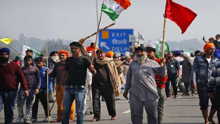India Tv - Chakka Jam, Rakesh Tikait, Farmers protest, farmers