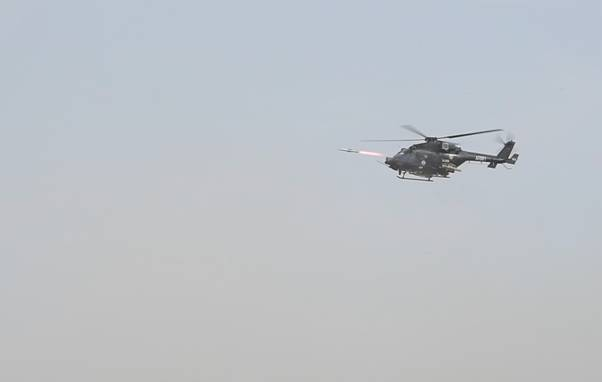 Helina Dhruvastra user trials, Helina Dhruvastra successful user trials, Anti-tank guided missile sy