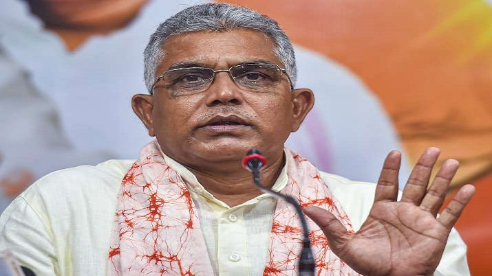 Bengal BJP chief Dilip Ghosh's convoy attacked; TMC party