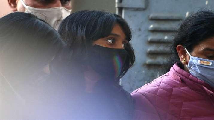 Climate activist Disha Ravi being produced at Patiala Court