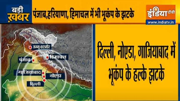 High intensity earthquake strikes in Tajikistan, tremors
