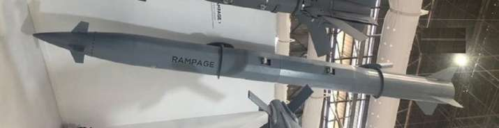 India Tv - Israel's Elbit Systems has put on display its Rampage air-to-ground missile at Aero India show in Be