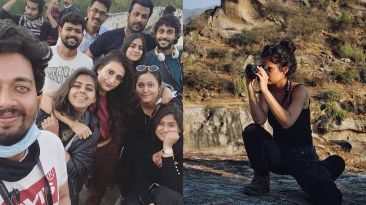 Fatima Sana Shaikh wraps the schedule of next in Udaipur | see pics