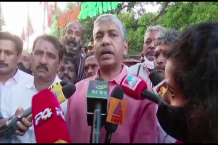 Former DGP Jacob Thomas joins BJP ahead of assembly polls