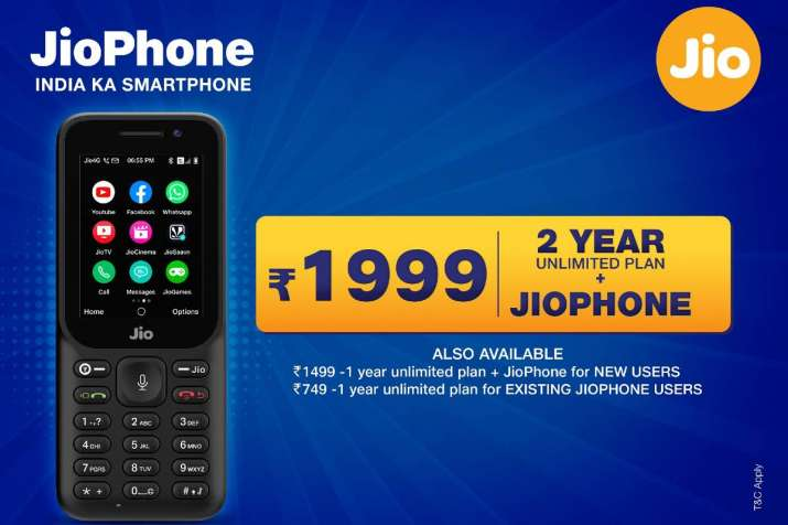 jiophone, jio offers