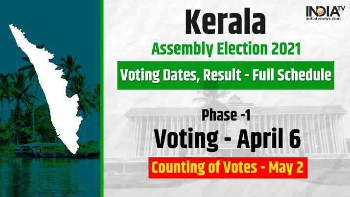 Kerala Election 2021: Voting dates, result - Full Schedule