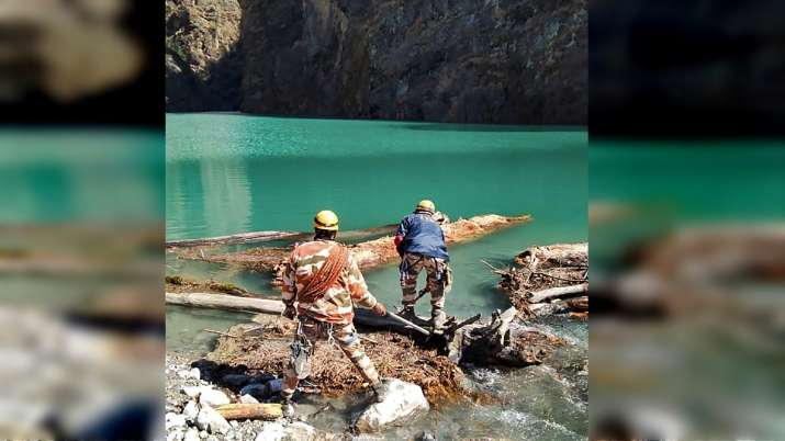 No imminent danger in artificial lake formed after glacier burst in Chamoli: Uttarakhand Chief Secy