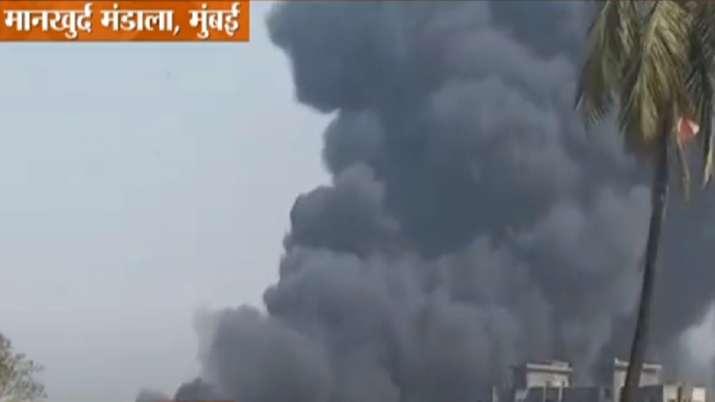 Mumbai fire, Mankhurd