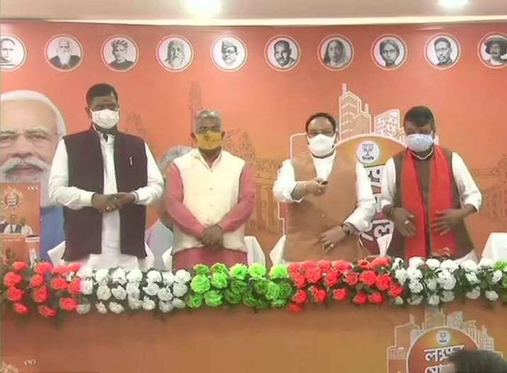 Bengal polls 2021: JP Nadda launches 'Lokkho Sonar Bangla