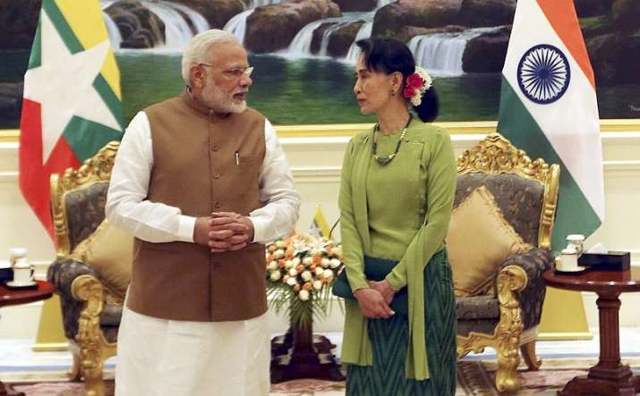 India urges Myanmar to uphold democracy after coup