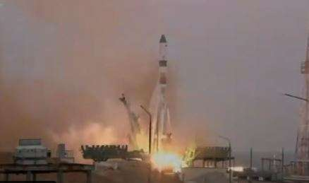 Russian resupply ship launches to space station