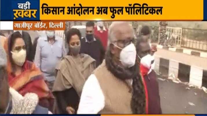 opposition MPs, ghazipur border