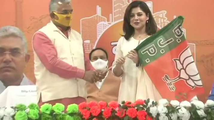 Payel Sarkar joins BJP