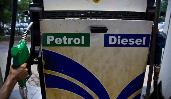 Fuel Prices Today Petrol Touches 96 Mark In Mumbai Diesel At 79 95 In Delhi Check Revised Rate Business News India Tv