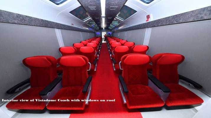 India Tv - Indian Railways new Vistadome coaches.