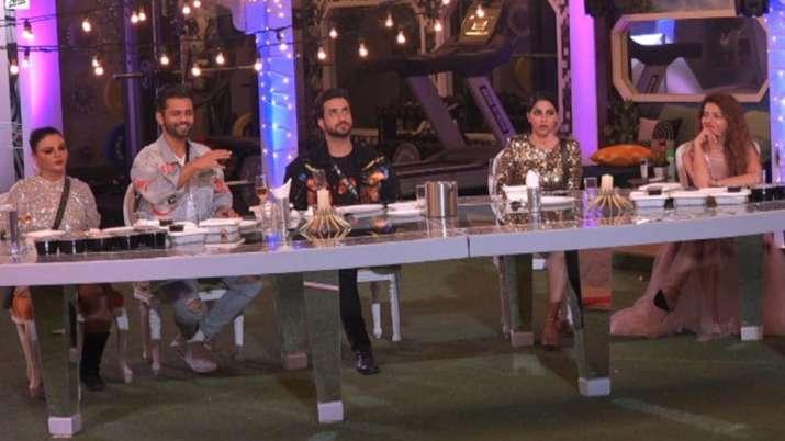 Aly Goni, Rahul Vaidya, Rakhi Sawant, Nikki Tamboli, Rubina Dilaik