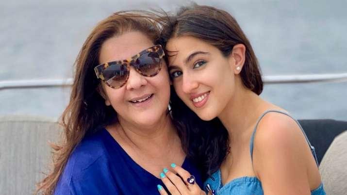 Bollywood actress Sara Ali Khan dedicated a heartfelt post for her mother Amrita Singh on her birthd